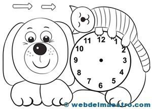 Relojes para aprender la hora-1