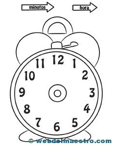 Relojes para aprender la hora-2