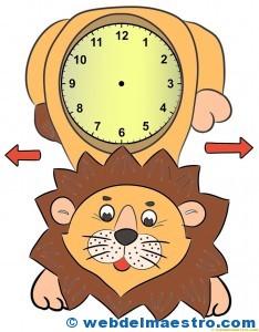 Relojes para aprender la hora-3-color-