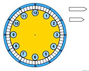 relojes para aprender la hora-4- color--