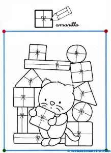Dibujos con figuras geomtricas  Web del maestro