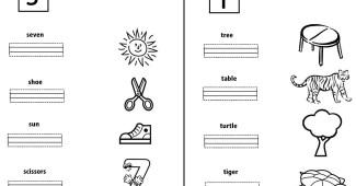 Letras S y T