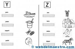 Letras Y -Z