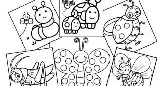 Dibujos de animales (insectos)