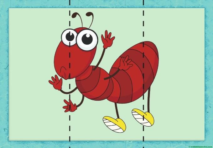 puzzle de hormiga