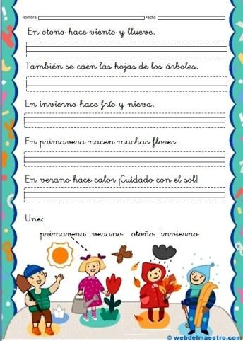 Fichas de lectoescritura 1