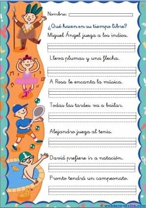 Fichas de lectoescritura 2 -