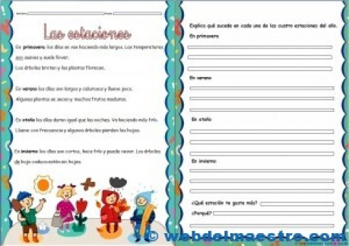 Fichas de lectoescritura 4