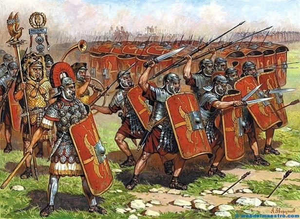 Ejército romano-La tortuga