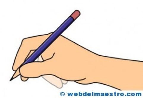 Coger bien el lápiz