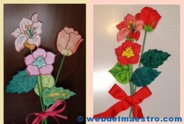Flores de papel-2