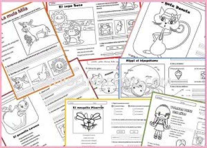 Lecturas comprensivas (Todos los niveles) - Web del maestro