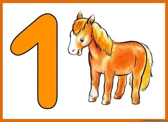 El numero 1-cartel