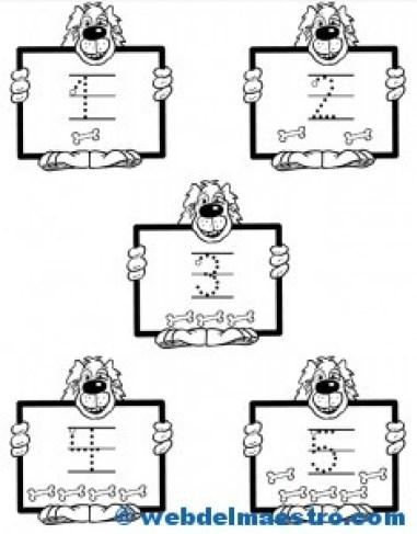 Actvidades-números del 1 al 5