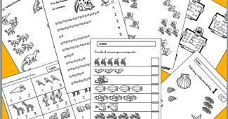 Aprender los numeros- Numeros del 1 al 10