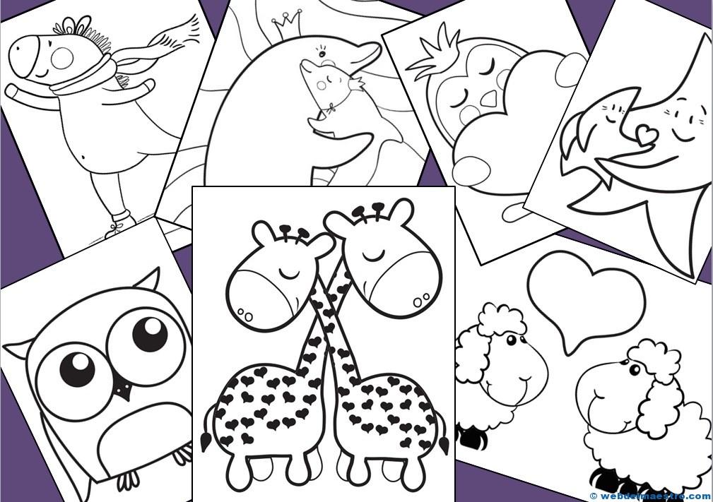 Dibujos De 2019 Web Del Maestro: Dibujos Para Pintar Preescolar Gratis Dibujos Para
