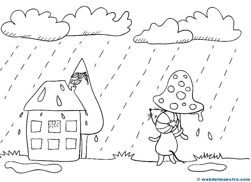 El tiempo-LLuvia - Web del maestro