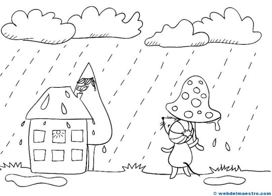 El tiempo-LLuvia
