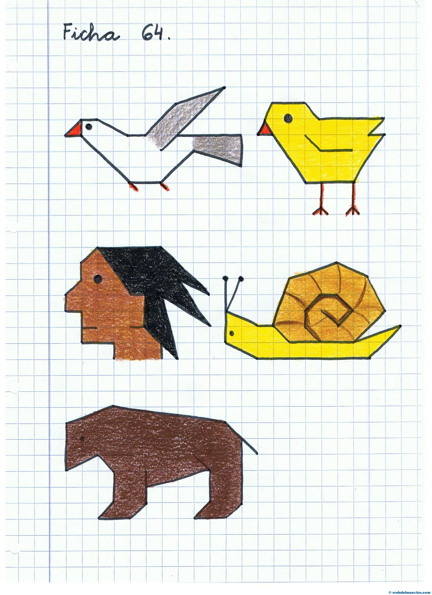 Dibujos En Cuadrícula Web Del Maestro