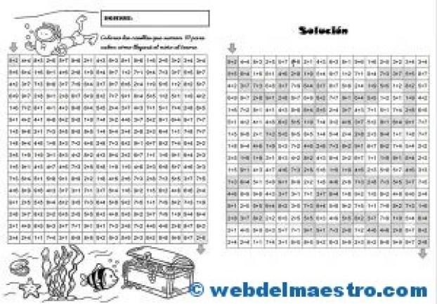 Juegos de Matemáticas-Sigue las sumas-3