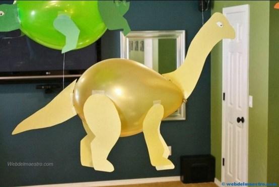 Manualidades faciles- Dinosaurio 2