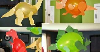 Manualidades faciles- Dinosaurios