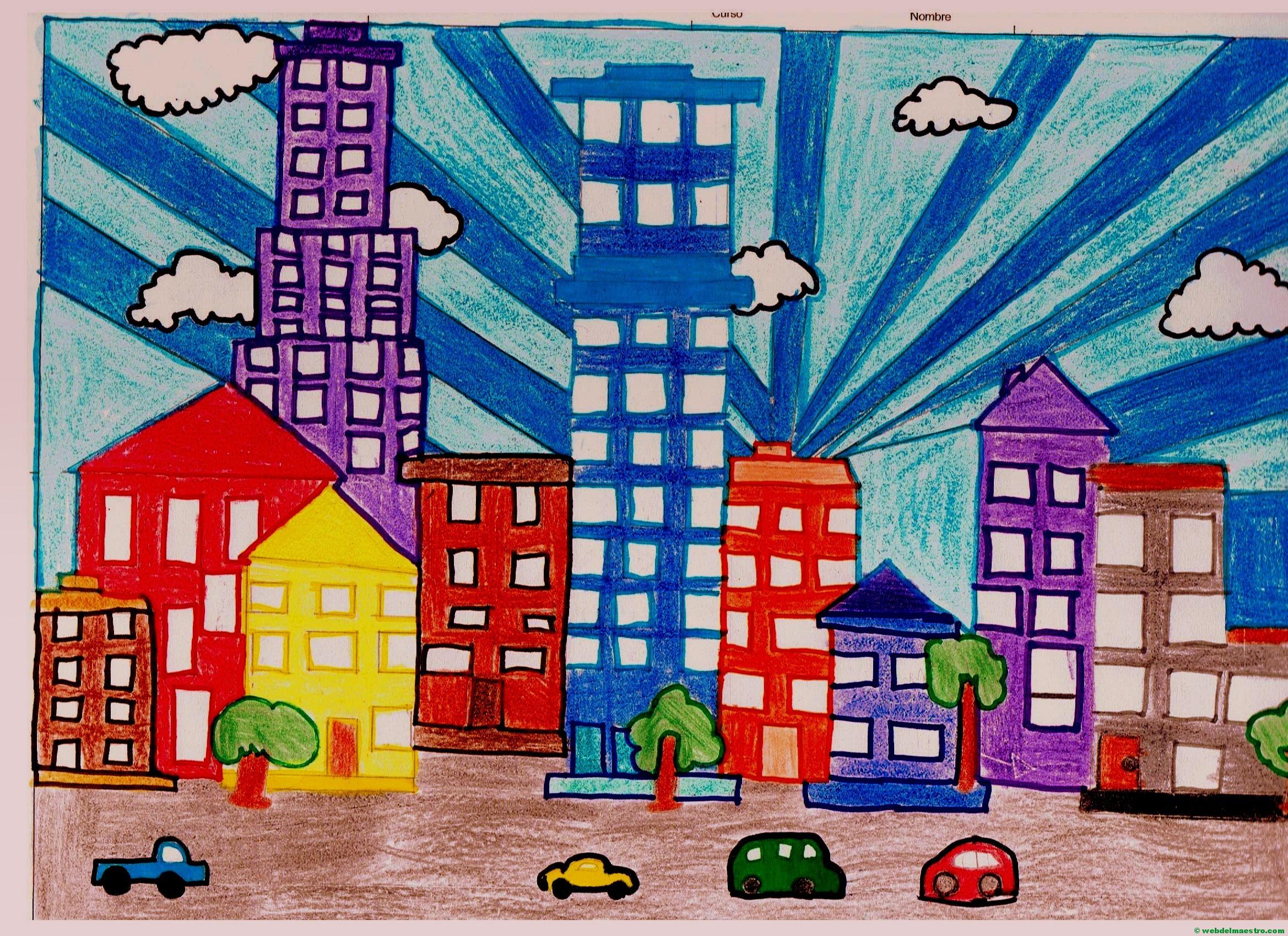 Cómo dibujar ciudades - Web del maestro