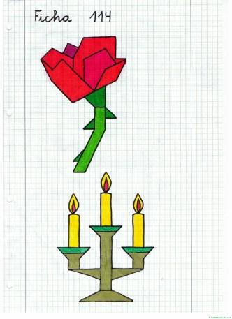 dibujos-cuadriculados-ficha-2