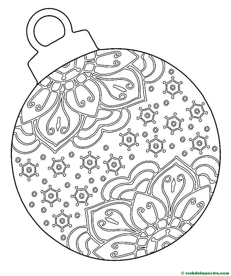 Bola de Navidad - Web del maestro