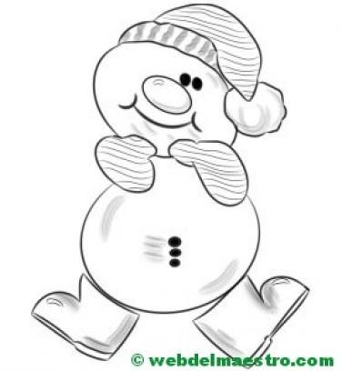 muñeco de nieve 1