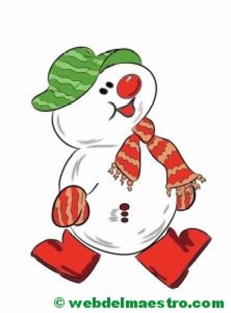 muñeco de nieve-3-color