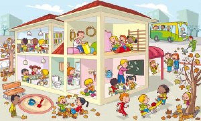 Imagen 5-Las dependencias del colegio