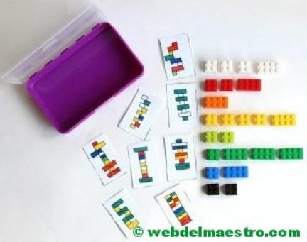 Psicomotricidad fina con piezas lego-1