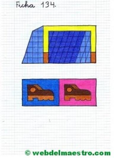Dibujos en cuadrícula para copiar-Deportes-2