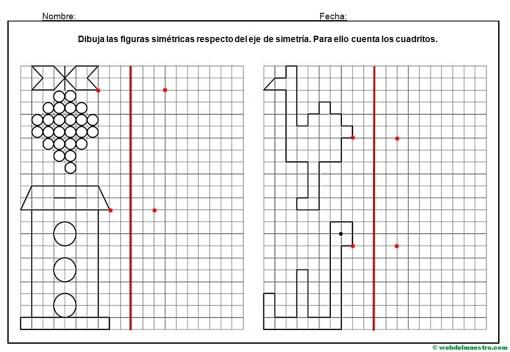 Dibujos simetricos en cuadricula-7