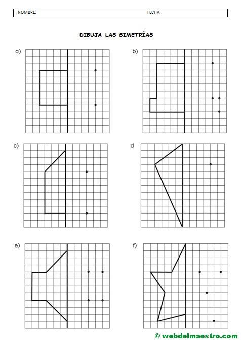 figuras geometricas simetricas