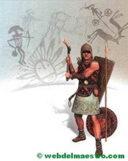 Guerrero de la Edad del Bronce