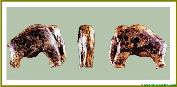 Objetos de adorno de cobre de la Prehistoria