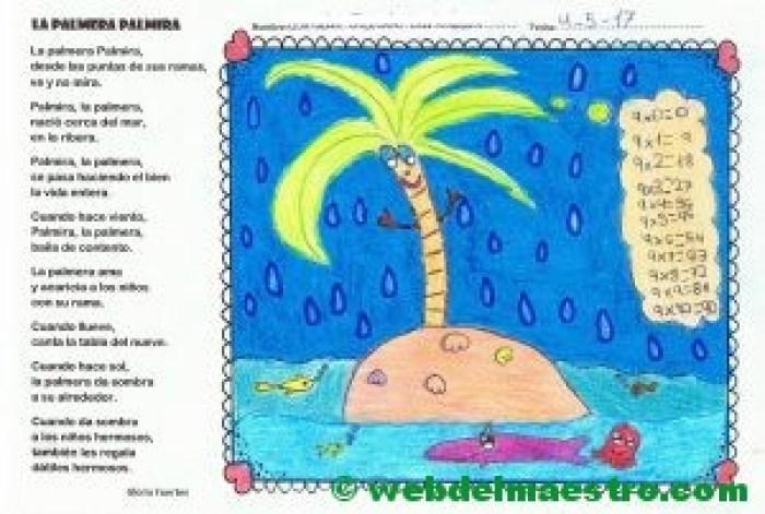 Palmira la palmera-Gloria Fuertes