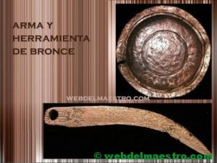 prehistoria-la edad de los metales-arma y herramienta de bronce