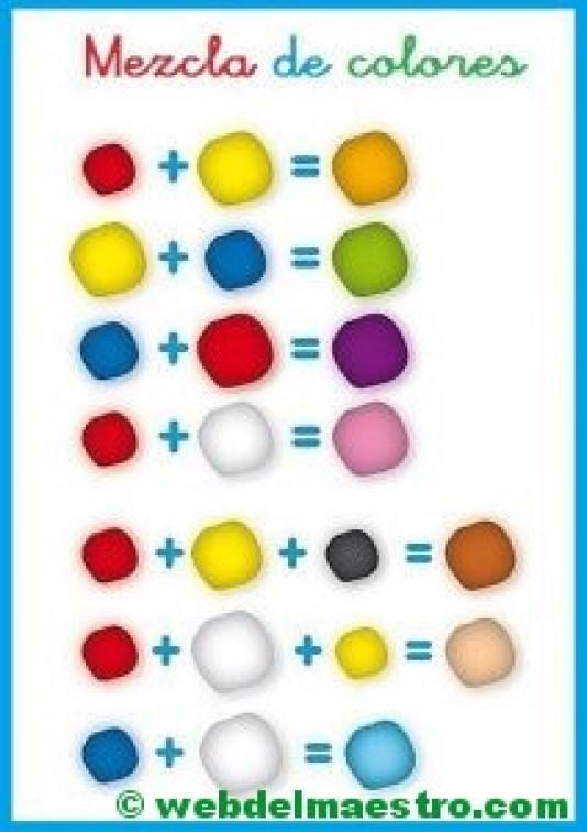 cómo mezclar colores de plastilina