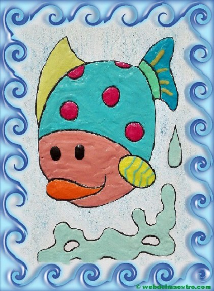 pez con marco