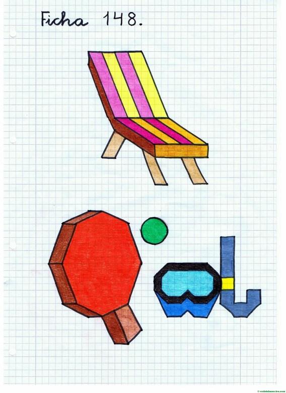 Dibujos sobre la playa- Ficha 2