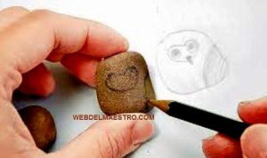Piedras pintadas c mo pintar piedras web del maestro for Se puede pintar encima del barniz