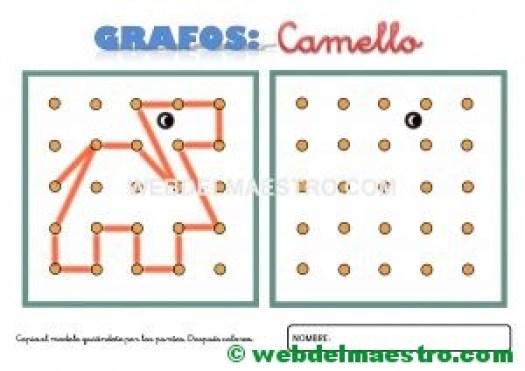 Grafos-Unir puntos-Camello-