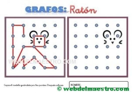 Grafos-Unir puntos-ratón-