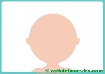 Modelo en color-cabeza-