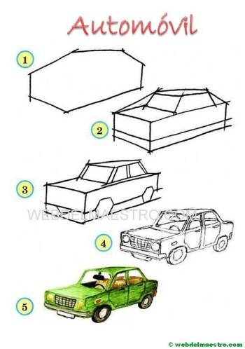 Aprender a dibujar-automóvil