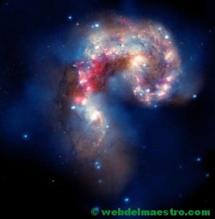 Galaxia con forma irregular