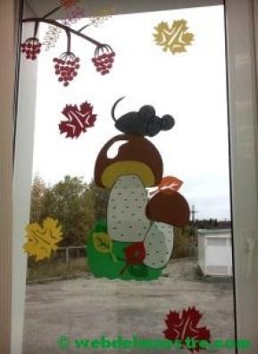 Ideas de otoño para decorar ventanas-1